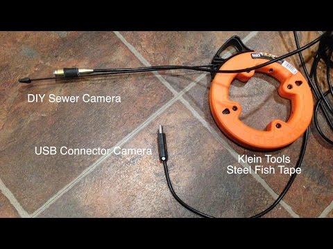 DIY Sewage Drain Camera