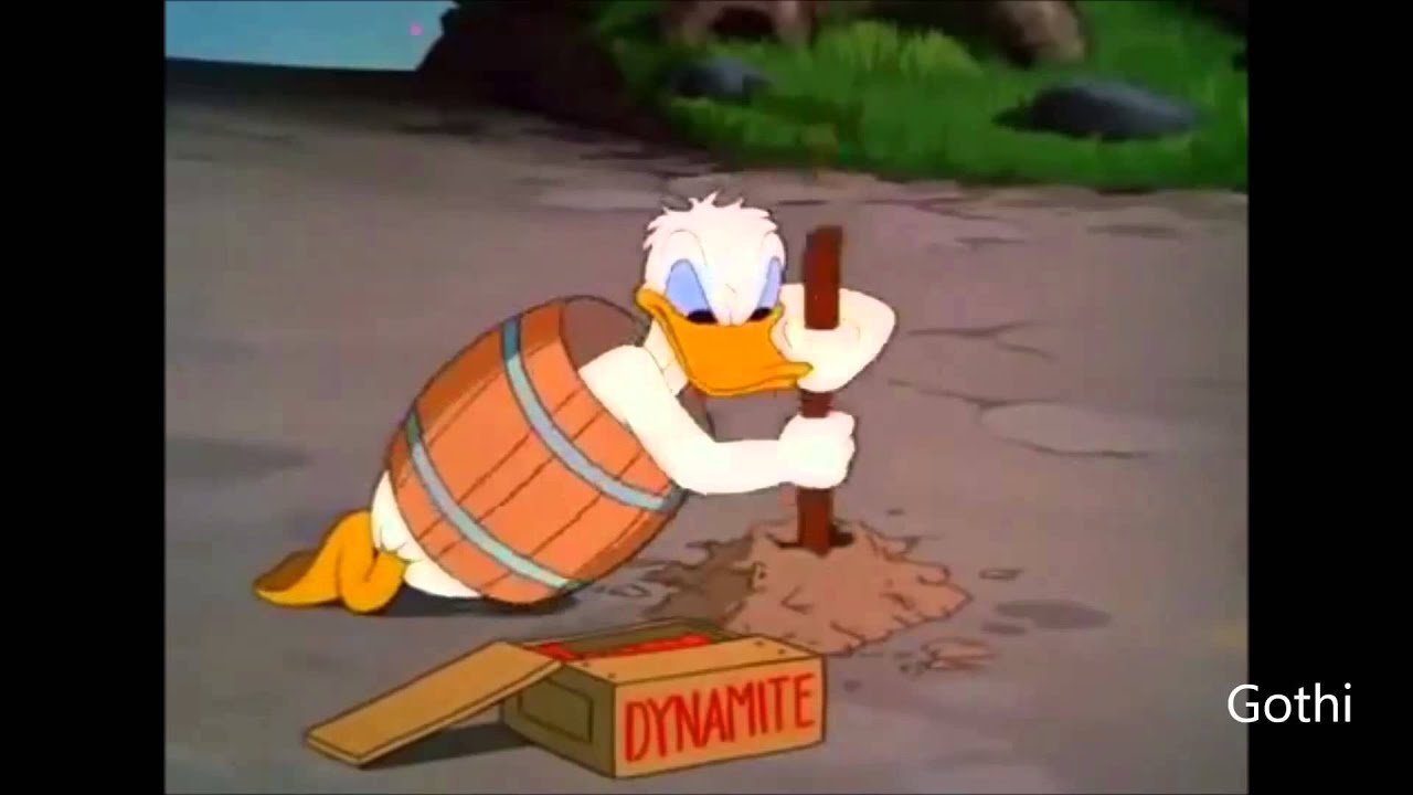 Donald duck angry rage soil breaking me down youtube for Soil breaking me down