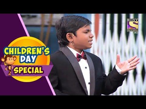Children's Day Special   Khajur Becomes Khajur Bachchan   The Kapil Sharma Show
