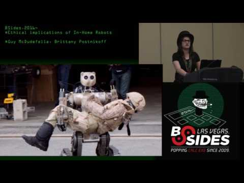 Ethical implications of In-Home Robots - Guy McDudefella, Brittany Postnikoff