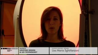 [Lighting Design & Led Technology] Student interview - Lisa Maria Sghirlanzoni