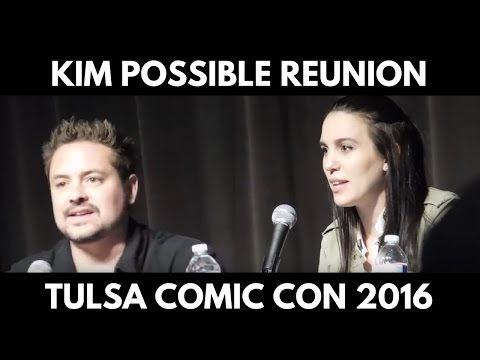Christy Carlson Romano & Will Friedle panel (Kim Possible @ Tulsa 2016)