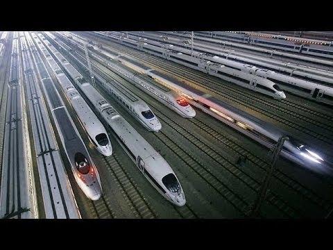 Tren bala Japonés  que levita a altas Velocidades - DOCUMENTAL