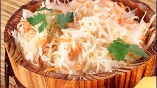 Старинный рецепт засолки капусты. Солим капусту.(Это очень старинный способ засолки капусты. Она получается хрустящая и сочная. Ее можно долго хранить в..., 2015-10-24T21:52:55.000Z)