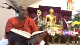 Ven. Talalle Chandakitthi Thero at Ehipasskio Buddhist Centre - Calgary  Day 1