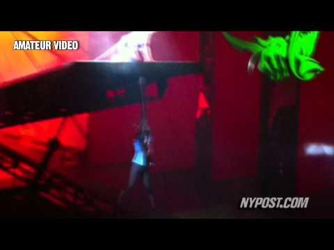 Broadway Spidey Falls, Again