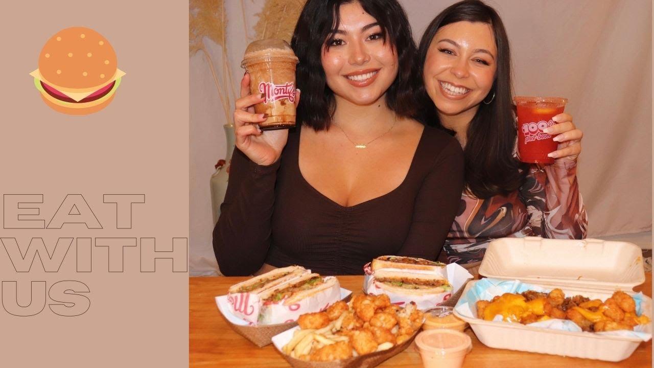 eat with us: vegan mukbang & casual chat