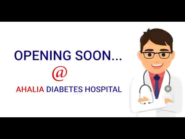 #Endocrinology Department will be functioning soon at #Ahalia Diabetes Hospital | Palakkad