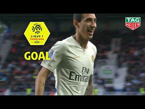Goal Angel DI MARIA (62') / Montpellier Hérault SC - Paris Saint-Germain (3-2) MHSC-PARIS / 2018-19