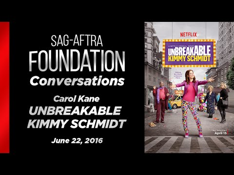 Conversations with Carol Kane of UNBREAKABLE KIMMY SCHMIDT