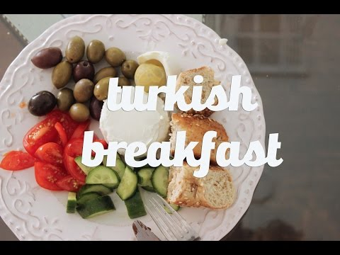 The Perfect Turkish Breakfast || Cook Like A World Traveler