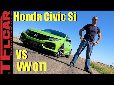 New Civic Si vs GTI Which One Is Faster