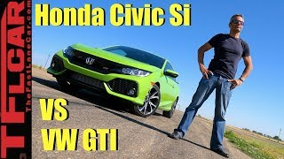 New Civic Si vs GTI: Which One Is Faster?