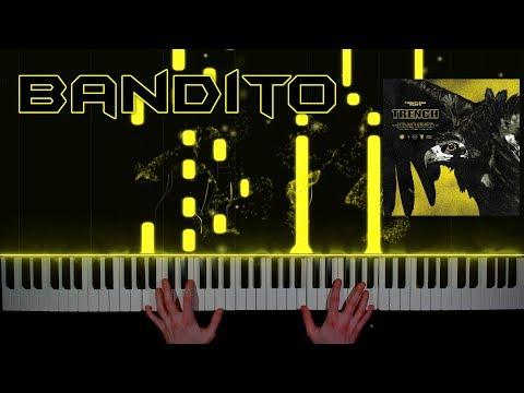 twenty one pilots - Bandito - piano cover | tutorial | how to play