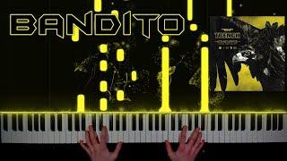 twenty one pilots - Bandito - piano cover tutorial how to play