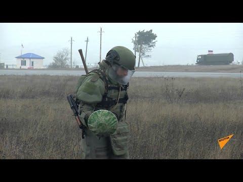 Саперы миротворческих сил РФ разминировали аэропорт Степанакерта в Карабахе