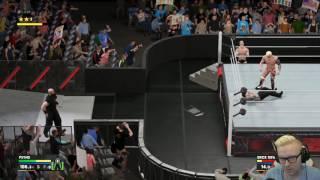 GrabaGra WWE Funny Referee Fail.