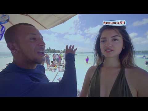El gran susto que se llevó la 'Loca lingüista' al nadar junto a una mantarraya en San Andrés