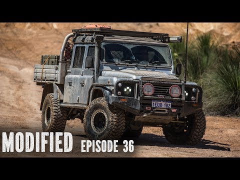 Land Rover Defender 130, modified Episode 36