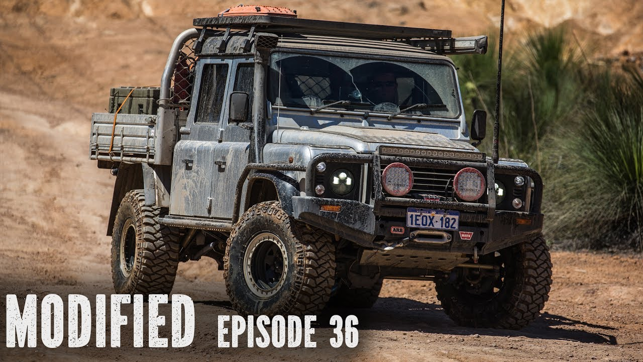 Land Rover Defender 130, modified Episode 36 - YouTube