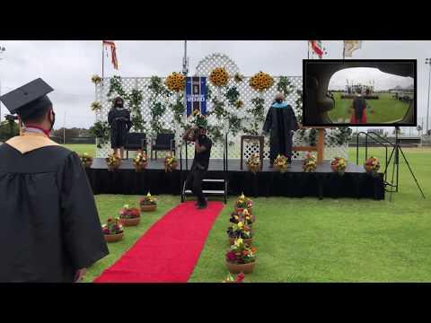 Nuique Tries Vlogging: Bishop Montgomery High School Class of 2020 Drive Thru Graduation