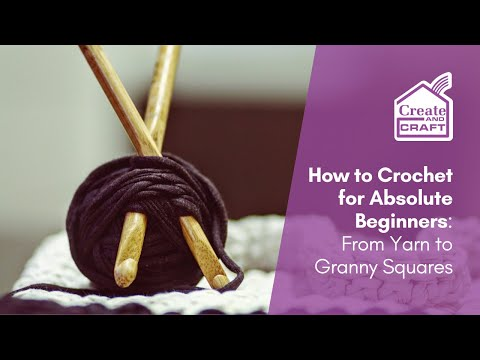 How to Crochet with Leonie Pujol and Julie Part 1 | Craft Academy