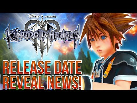 KINGDOM HEARTS 3 - RELEASE DATE REVEAL BETWEEN APRIL AND JUNE!