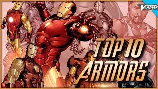 Top 10 Iron Man Armors!