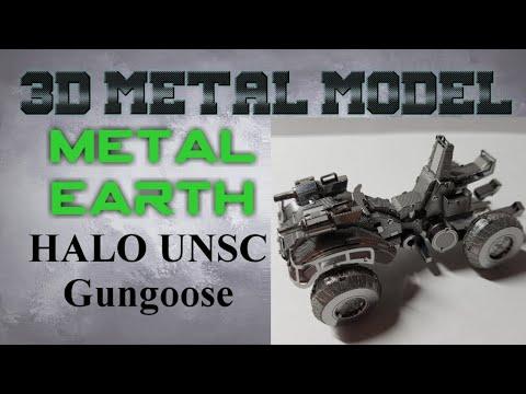 Metal Earth Build - Halo UNSC Gungoose