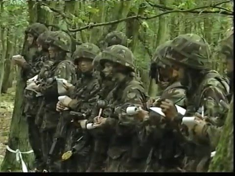 British Army, basic training, PT 3