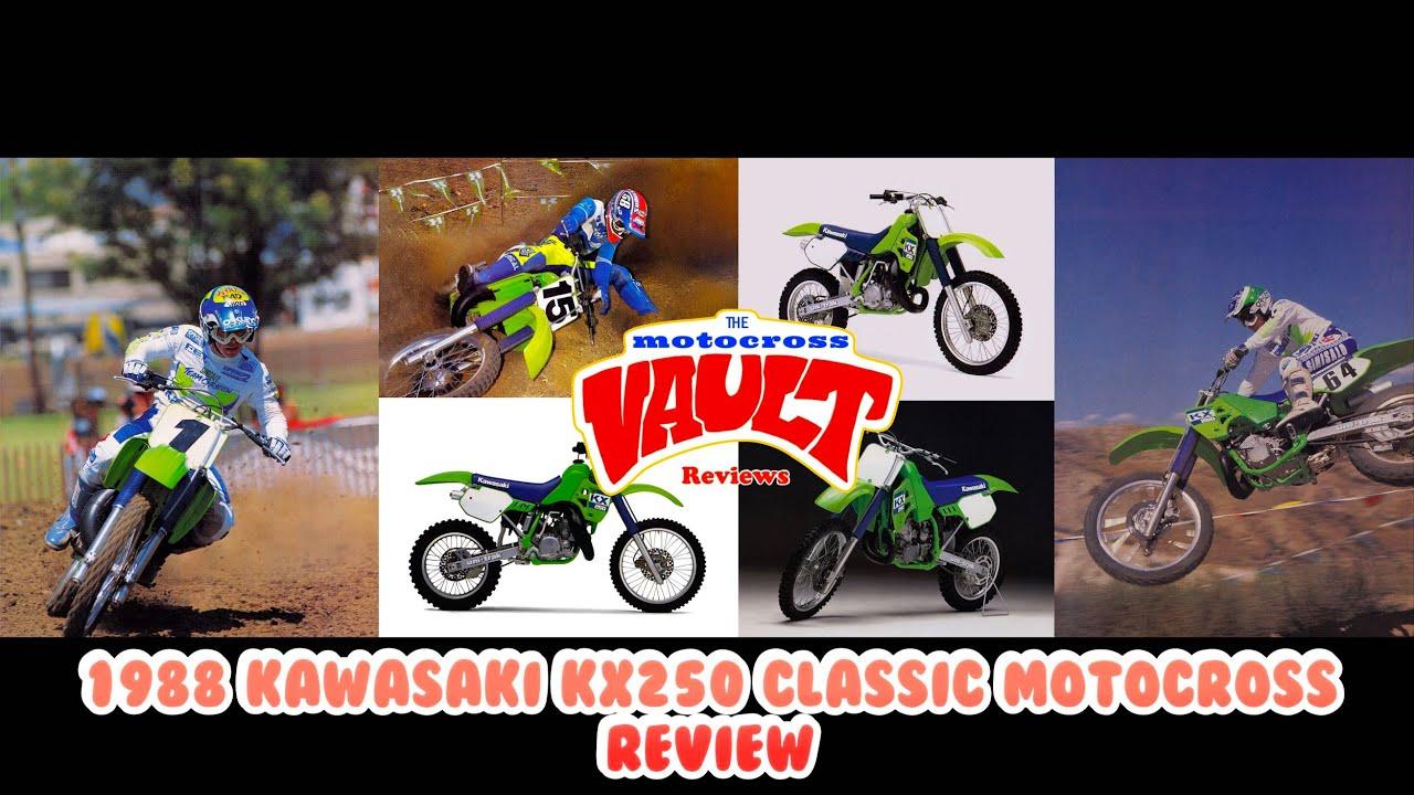 1988 Kawasaki KX250 Classic Motocross Review