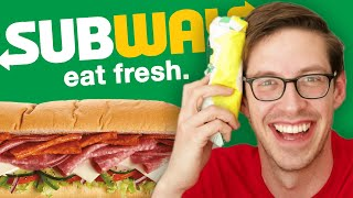 Keith Eats Everything At Subway
