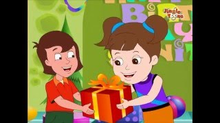 Baar Baar Din Yeh Aaye | Hindi Children Songs | Animated Birthday Song by Jingle Toons