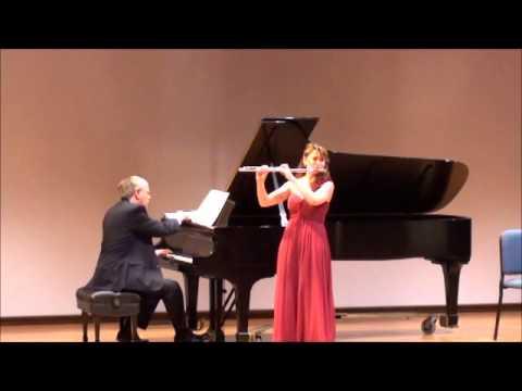 "Bizet-Borne ""Carmen Fantasy"" - Mimi Stillman, flute and Charles Abramovic, piano - Washington, DC"