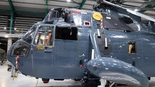 RNAS Yeovilton  Cobham Hall Repair & Storage Facility - Helicopters 2018