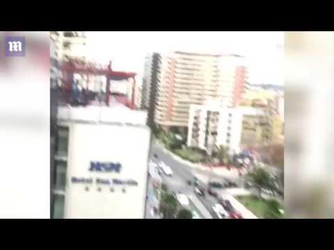 VIDEO: Powerful earthquake strikes off Chile's coast near Valparaiso