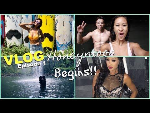 Vlog   Honeymoon starts Crushing it in VEGAS Hawaii EP1
