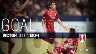 Lamar Hunt U.S. Open Cup Semifinal: LA Galaxy vs. FC Dallas: Victor Ulloa Goal - Aug. 10, 2016