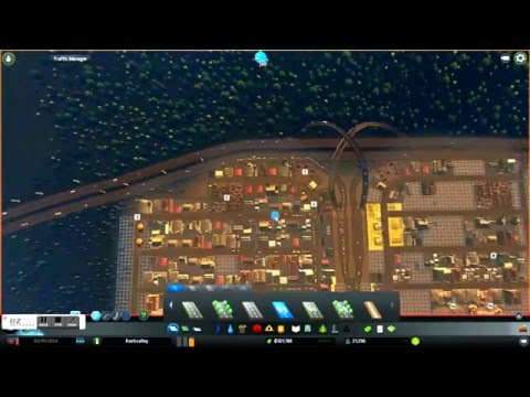 Industrial Traffic fixing Cities Skylines After Dark |