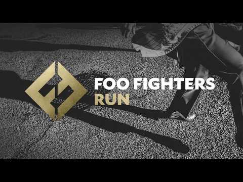 Foo Fighters: Run (lyrics on screen)
