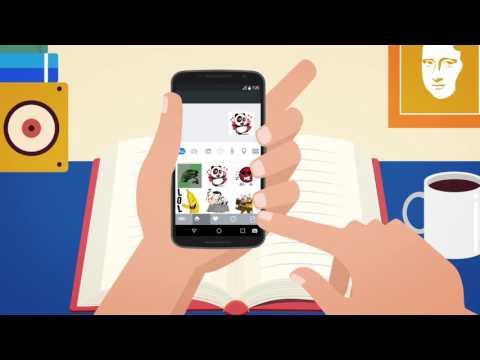 Kika Keyboard - Emoji, Emoticon, GIF, Sticker, Tema