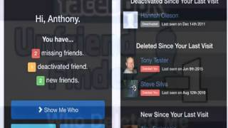 Finally new Facebook App allows users to see who deleted them