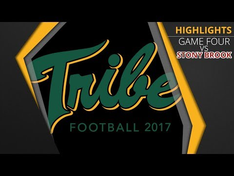 2017 Tribe Football - Game Highlights vs. Stony Brook