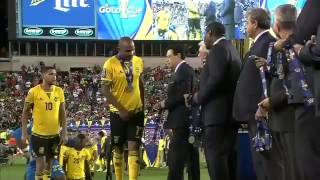 Gold Cup 2nd Place Award   Jamaica #GoldCup2015 #CopaOro2015 @ItsTheJFF @miseleccionmx