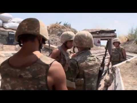 Nagorno Karabakh  On the front line