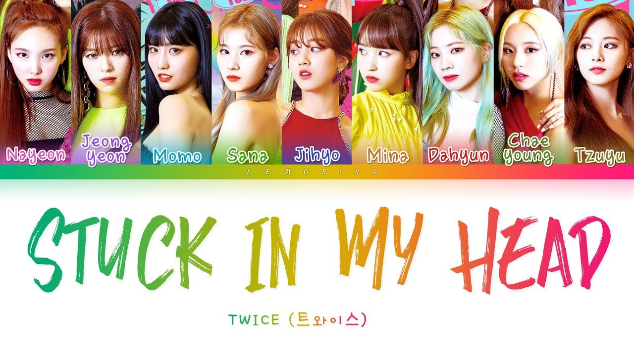TWICE – Stuck In My Head
