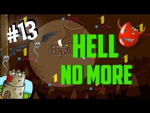Grow Castle | #13 | BOOOM! Hell Colony 30.000 done (BUILD)