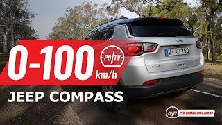 2018 Jeep Compass 2.4 0-100km/h & engine sound
