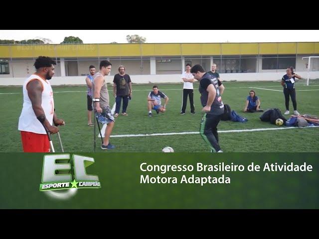 Alagoas recebeu o Congresso Brasileiro de Atividade Motora Adaptada