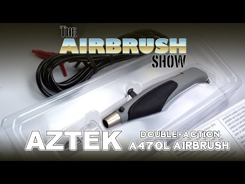 AZTEK A470 DOUBLE-ACTION AIRBRUSH - THE AIRBRUSH SHOW EP09